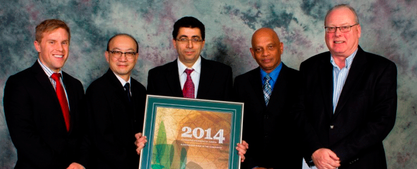 SMA wins 5 awards at 2014 CEA Showcase Gala